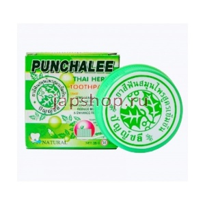 Punchalee Herbal Toothpaste Зубная паста на основе трав, 35 гр