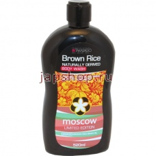 , 043588 Brown Rice Moscow Гель для душа, 520 мл